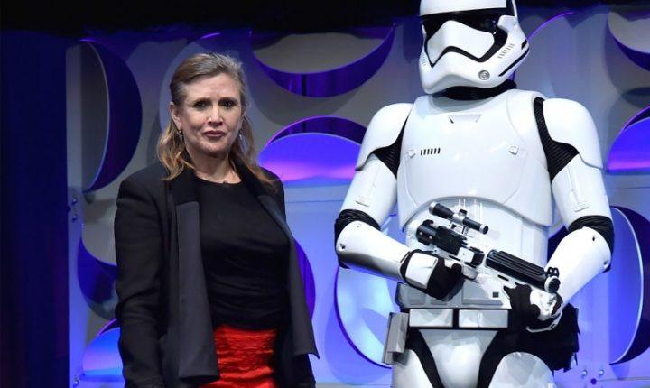Carrie Fisher también dice adiós al 2016