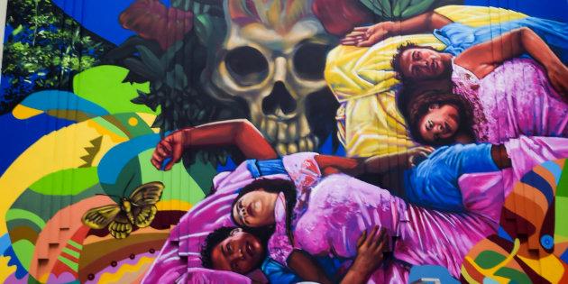 """Así celebraron los primeros 50 años de """"Cien Años De soledad"""" en Colombia"""