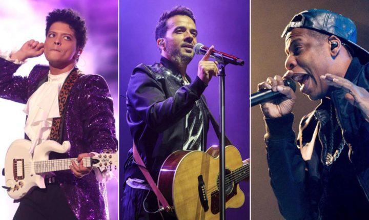 Conteo regresivo al Grammy con artistas latinos