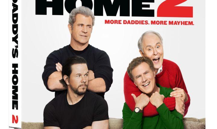 La diversión llega a casa con Daddy's Home 2  Blu-ray y 4K Ultra HD