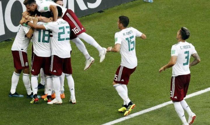 México dio un golpe fuerte ante Corea del Sur