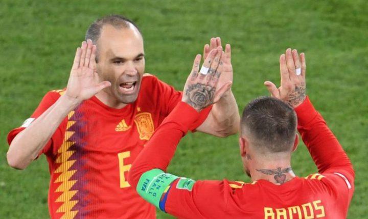 España avanza como líder de Grupo