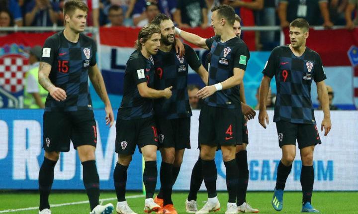 Croacia terminó como líder de Grupo