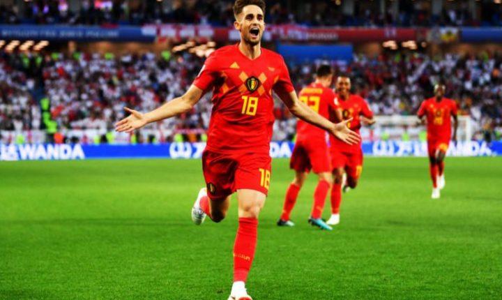 Bélgica marca la diferencia ante Inglaterra