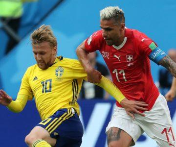 Suecia sorprendió a Suiza