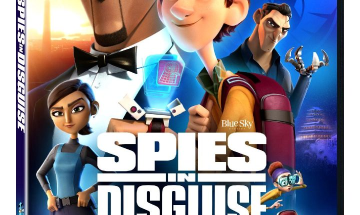 Llévate a casa la aventura de Spies in Disguise