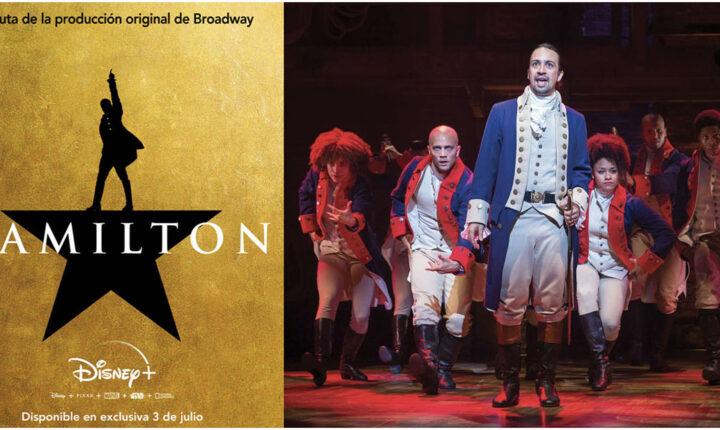La  versión cinematográfica de Hamilton estrena este 3 de julio