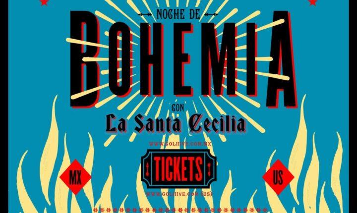 Gran noche de bohemia con La Santa Cecilia