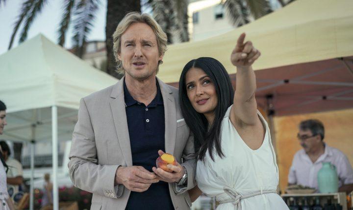 """Salma compartirá créditos con Owen Wilson en """"Bliss"""""""