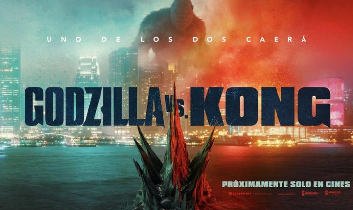 Godzilla vs. Kong será un duelo de titanes