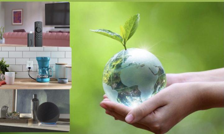 Amazon ayuda a tu hogar para conmemorar y ahorrar en este Día de la Tierra