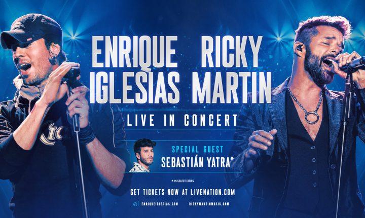 Enrique, Ricky y Sebastián listos para su tour 2021 por Estados Unidos